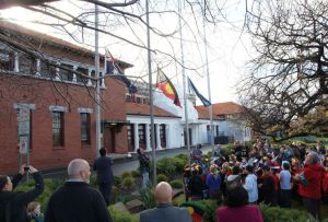 Moreland Council TSI Flag Rising
